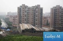 Новый дом в Китае не простоял и суток