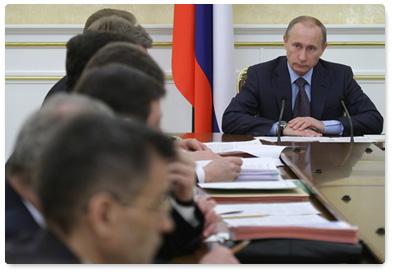 Владимир Путин уведомил о росте показателей строительства жилья в РФ