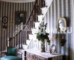 Средневековый стиль деревянной лестницы Фото 4