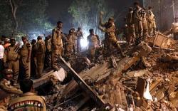 Эвакуация жителей в Нью-Дели