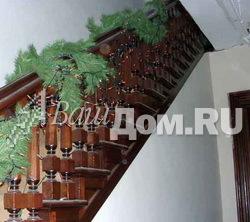 Деревянные лестницы в стиле Второй Империи Фото 7